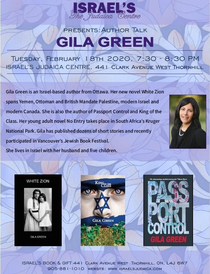 Toronto_Israels_Author-Talk_Gila-Green