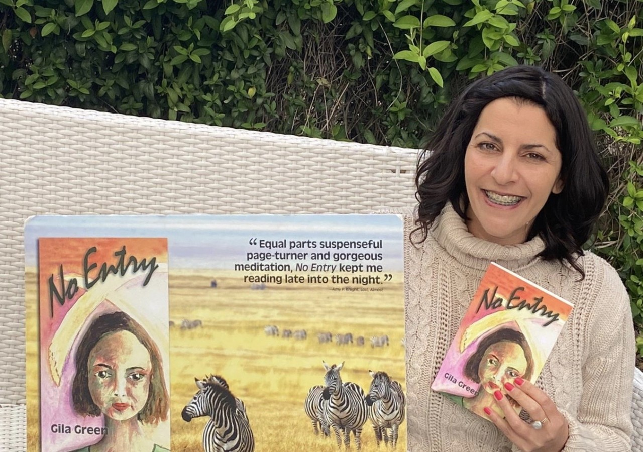 Gila Green and her novel No Entry
