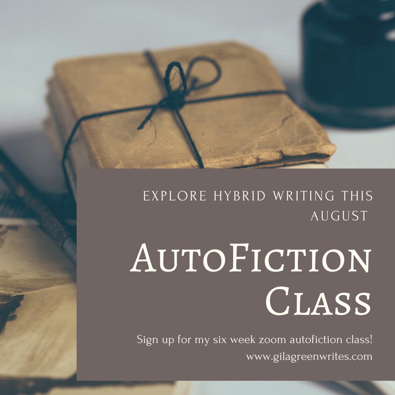 AutoFiction-Class